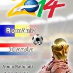 Romania - Olanda - Brazilia 2014 - World Cup