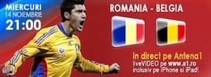 Romania Belgia online