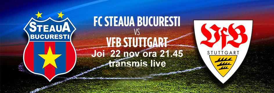 Analiza si pronostic Steaua Stuttgart